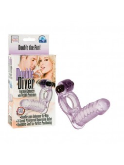 Double Diver Vibr Ring Purple