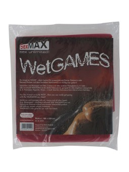 Sexmax lenzuolo 180x220 rosso