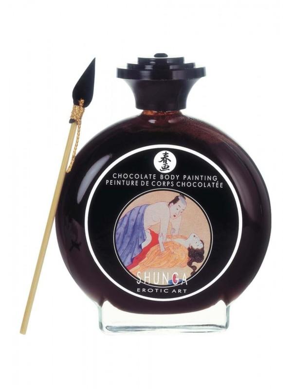 Pittura commestibile Fragola / vino Shunga Strawb/wine Bodypaint 100 Ml